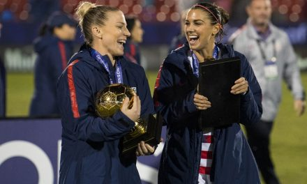 THEY'RE GOLDEN GIRLS: Ertz named tourney MVP, Morgan top goal-scorer