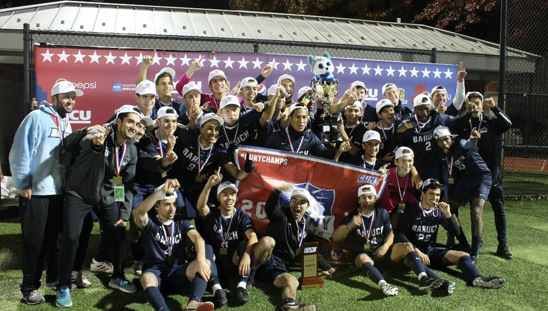 CUNYAC CHAMPIONS: Baruch captures men's crown in shootout