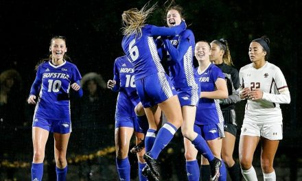 LEAVING NO DOUBT: Hofstra women upset, rout Boston College in NCAA 1st round, 4-1