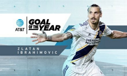 GOAL OF THE YEAR: LA Galaxy's Ibrahimovic earns the MLS honor