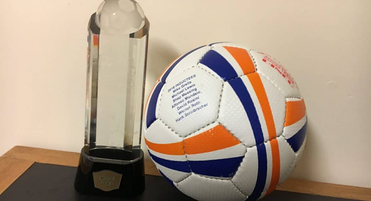 SO MANY THANK YOU'S, SO LITTLE TIME: Lewis' LISFL Hall of Fame induction speech
