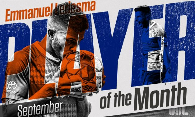 THE BEST OF THE BEST: FC Cincinnati midfielder Ledesma, an ex-Cosmos, voted USL MVP
