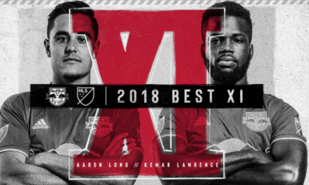 THEY'RE THE BEST: Long, Lawrence named to MLS Best XI