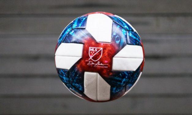 HAVING A BALL: MLS unveils 2019 match ball