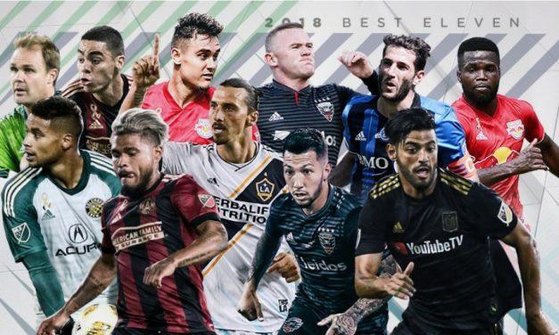 BEST IN LEAGUE: MVP finalists Vela, Martinez, Almiron, Rooney and Ibra are among MLS Best XI
