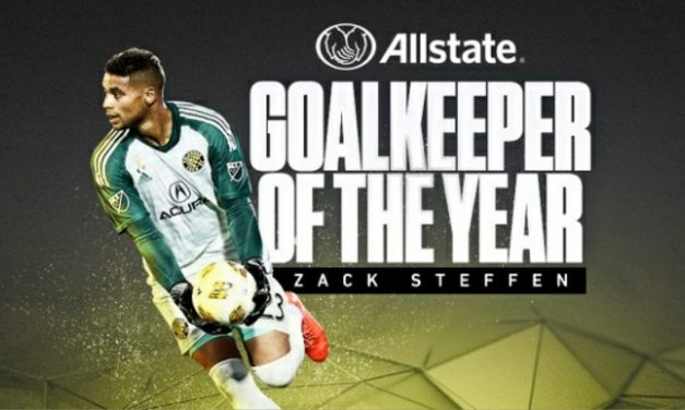 THE BEST HANDS-ON MAN: Columbus' Steffen named MLS GK of the year