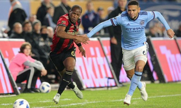 THEY HAVEN'T LOST THEIR OPTIMISM: NYCFC players feel they can rebound in Atlanta