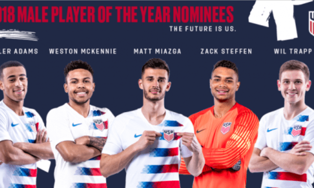 IN THE RUNNING: Adams one of 5 finalists for USMNT player of the year