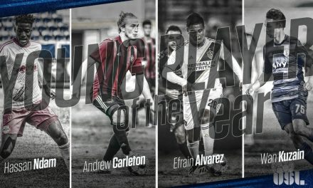 AMONG THE FINAL FOUR: Red Bull II's Ndam vying for USL young player of year honors