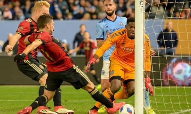 ONE FOOT IN THE GRAVE: NYCFC lose 1st leg of Eastern semis to Atlanta at home