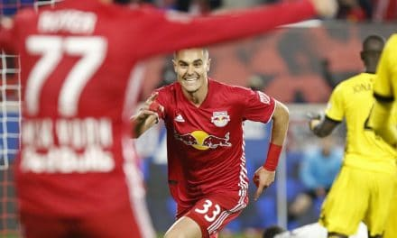 AGAINST THE GRAIN: Red Bulls buck history, blank Columbus and roll into conference final