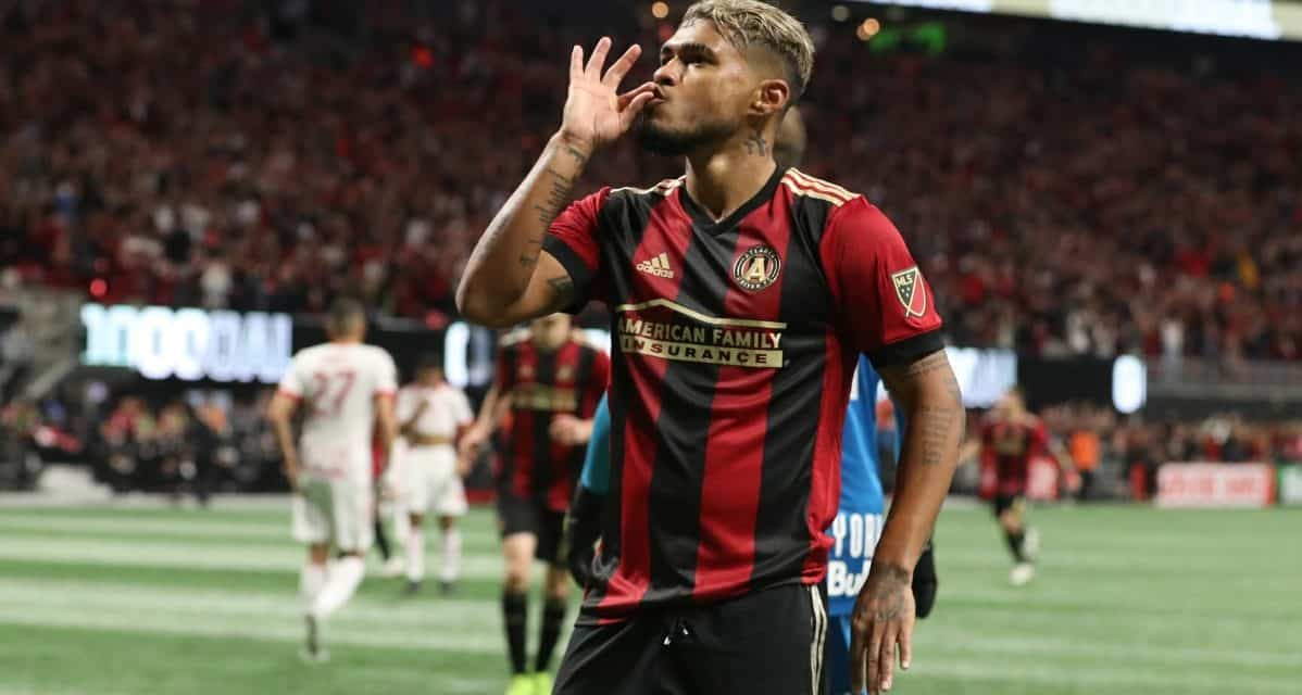HE'S NO ORDINARY JOSEF: Martinez sets record for most goals by MLS player in a season