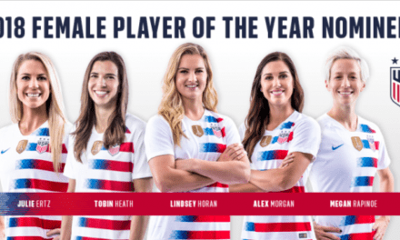 THE FINAL FIVE: Ertz, Horan, Heath, Morgan, Rapinoe vie for U.S. female player of the year