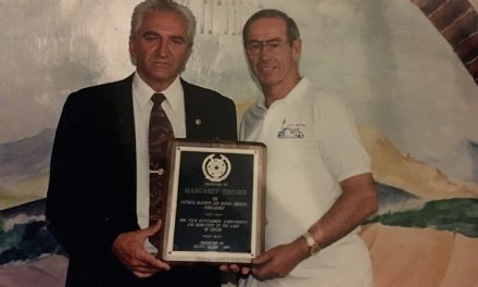 THE PASSING OF A LEGEND: Former LIJSL president Peter Collins dies