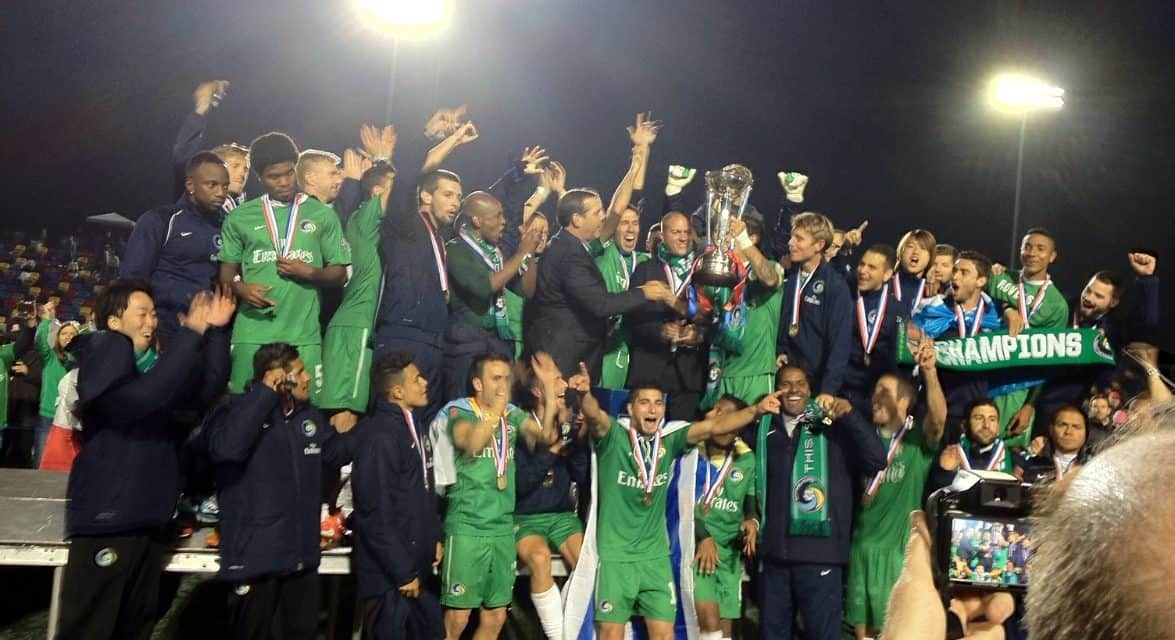 FIVE YEARS AGO: When Savarese and the Cosmos won a title in Atlanta