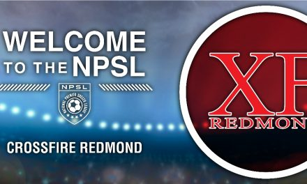WELCOME ABOARD: Crossfire Redmond joins NPSL as expansion team