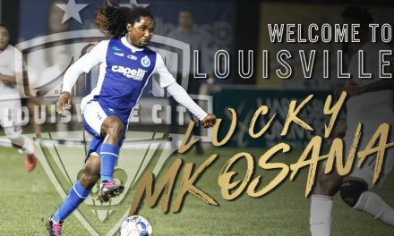 GETTING LUCKY: Louisville City FC signs ex-Cosmos Mkosana