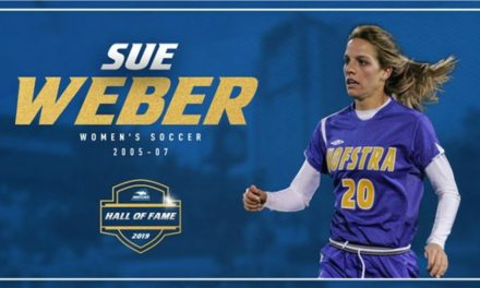FINDING FAME: Weber elected to Hofstra Athletics Hall