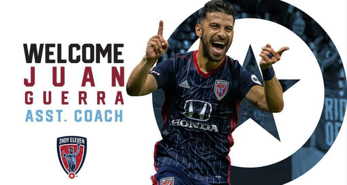 HANGING THEM UP: Ex-Cosmos Guerra retires to become Indy Eleven assistant coach