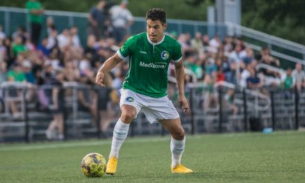 TYING ONE ON: Espinal's goal helps 10-man Cosmos salvage 1-1 draw at Detroit