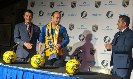 SEE IT TO BELIEVE IT: Landon's 1st 2 goals for the indoor Sockers