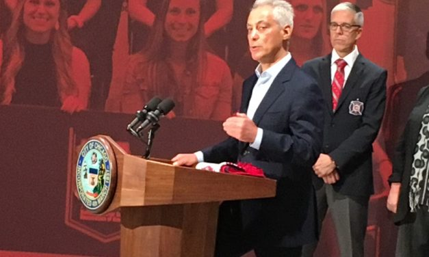 THE MAYOR TALKS: Chicago's Emanuel at the United Soccer Coaches convention