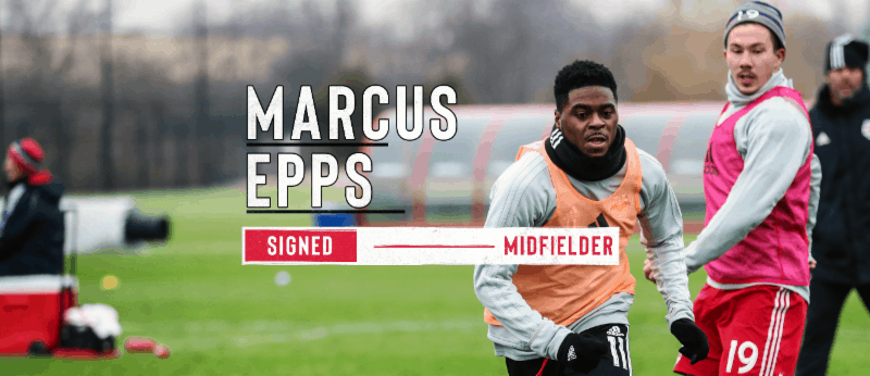 WELCOME ABOARD: Red Bulls sign ex-Union midfielder Epps