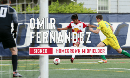 ANOTHER ACADEMY GRADUATE: Fernandez signs with the Red Bulls
