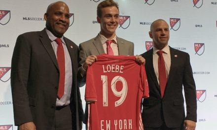 HOPING TO GIVE WHAT HE RECEIVED: Janos Loebe wants to give Red Bulls fans goose bumps when he plays