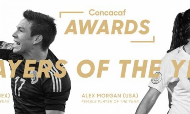CONCACAF HONORS: Morgan, Lozano named players of the year