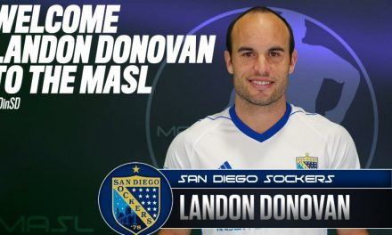TURNING TO THE GREAT INDOORS: Donovan signs with Sockers