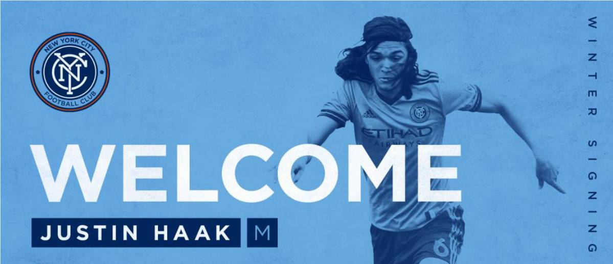 JUSTIN'S TIME: NYCFC signs Met Oval product Haak as Homegrown Player