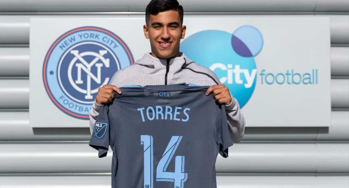 SIGNING ON: U.S. U-20 captain Torres joins NYCFC