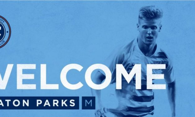 GETTING THEIR MAN: NYCFC acquires Keaton Parks on loan from Benfica