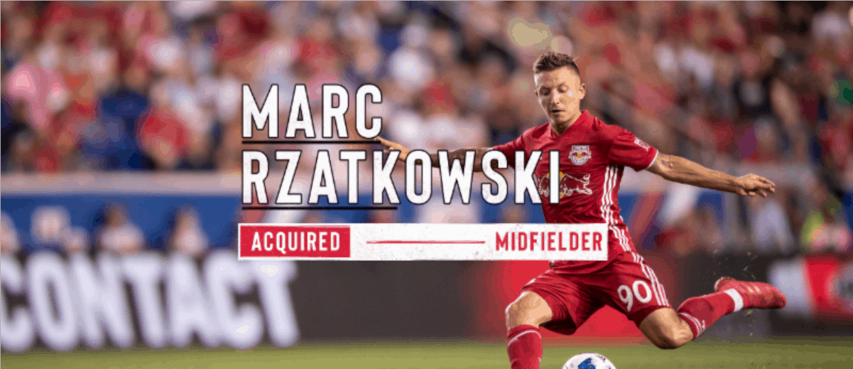 TARGETED: Rzatkowski signs with Red Bulls via Targeted Allocation Money