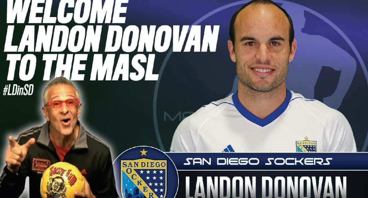 GETTING PERSONAL: Landon Donovan talks indoor soccer, his life on Kick This!