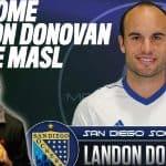 GETTING PERSONAL: Landon Donovan talks indoor soccer, his life on Kick This!