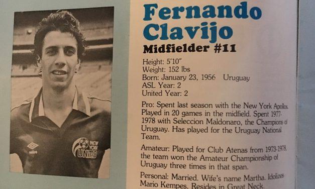 OFFSIDE REMARKS: Remembering the great Fernando Clavijo