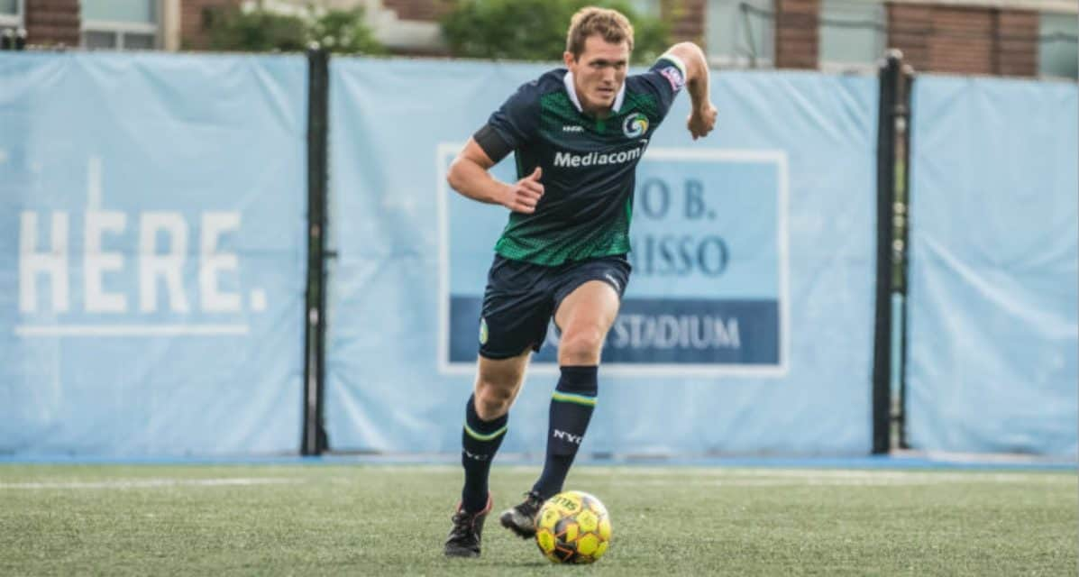 BACKLINE ANCHOR IS BACK: Halfhill re-signs with the Cosmos