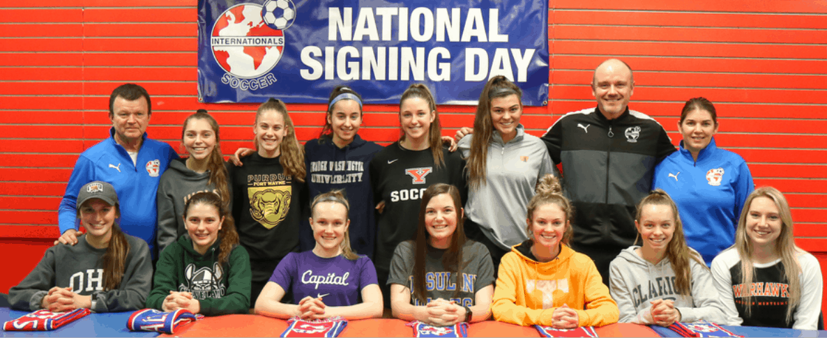 A BAKER'S DOZEN: 13 college commitments from Internationals SC