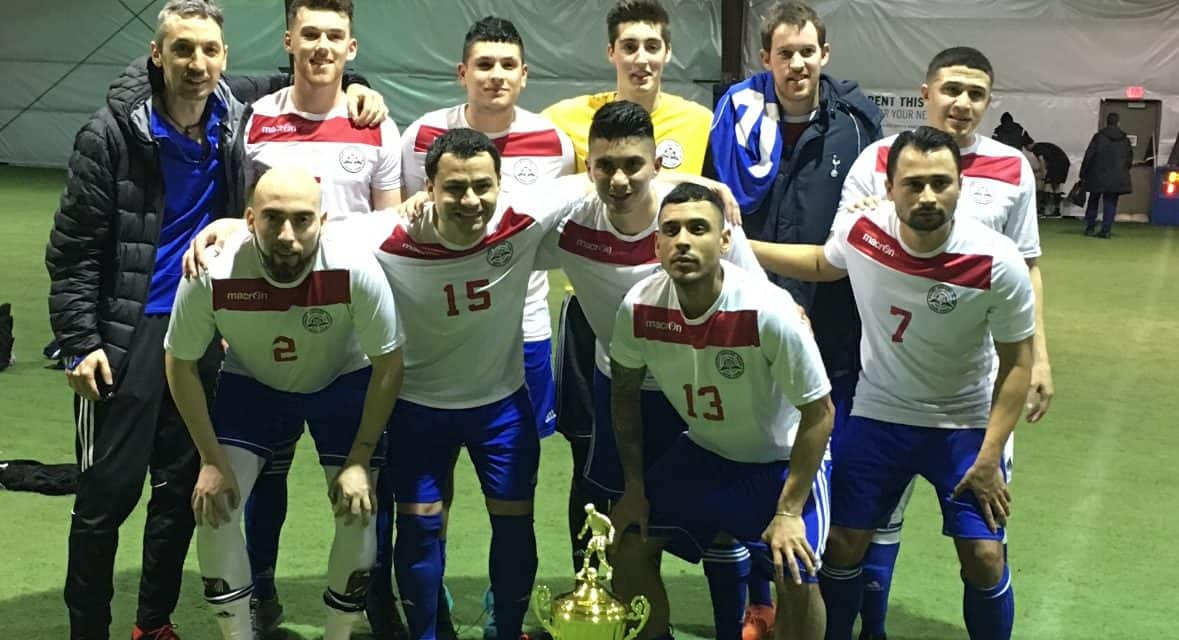 THAT CHAMPIONSHIP FEELING: NY Polet 1, PDB Irish Rovers, Glen Cove, Oceanside United capture LISFL indoor titles