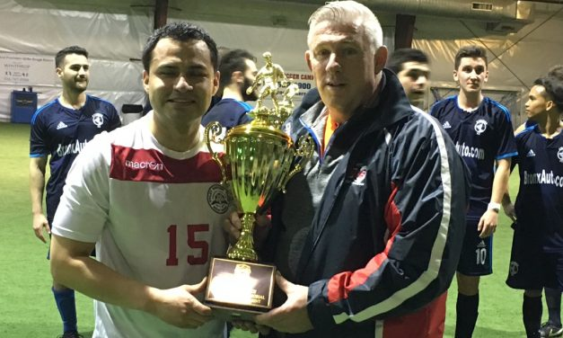 IN TRIPLICATE: Galindo's hat-trick lifts NY Polet to 2nd successive LISFL Premier indoor title