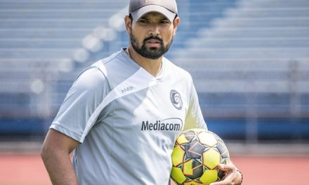 THE HANDS-ON APPROACH: Diaz returns to Cosmos as goalkeeper coach