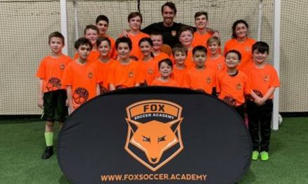 SURPRISE, SURPRISE: During EPL break, Fuchs visits his academy in Warwick