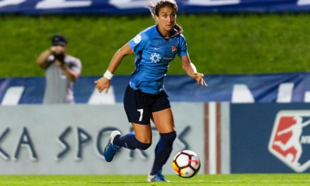 HANGING UP HER BOOTS: Sky Blue FC' Hoy retires