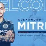 ALEXANDRU THE GREAT: Mitriță signs, becomes NYCFC's 3rd DP