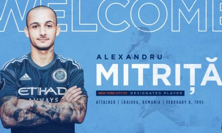 ALEXANDRU THE GREAT: Mitriță signs, becomes NYCFC's 3rd DP