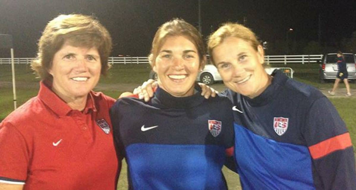 IT'S IN HER BLOOD: For Sarver, its soccer and Internationals Soccer Club