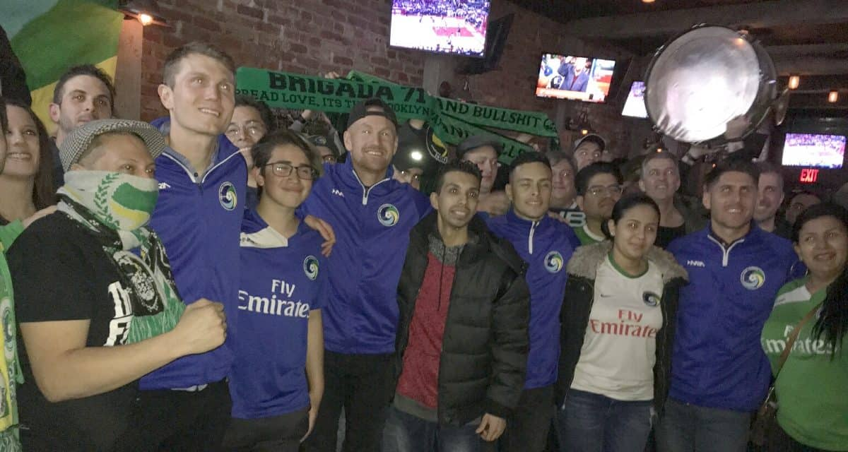 CELEBRATING THEIR HEROES: 5 Points let Cosmos know how they feel