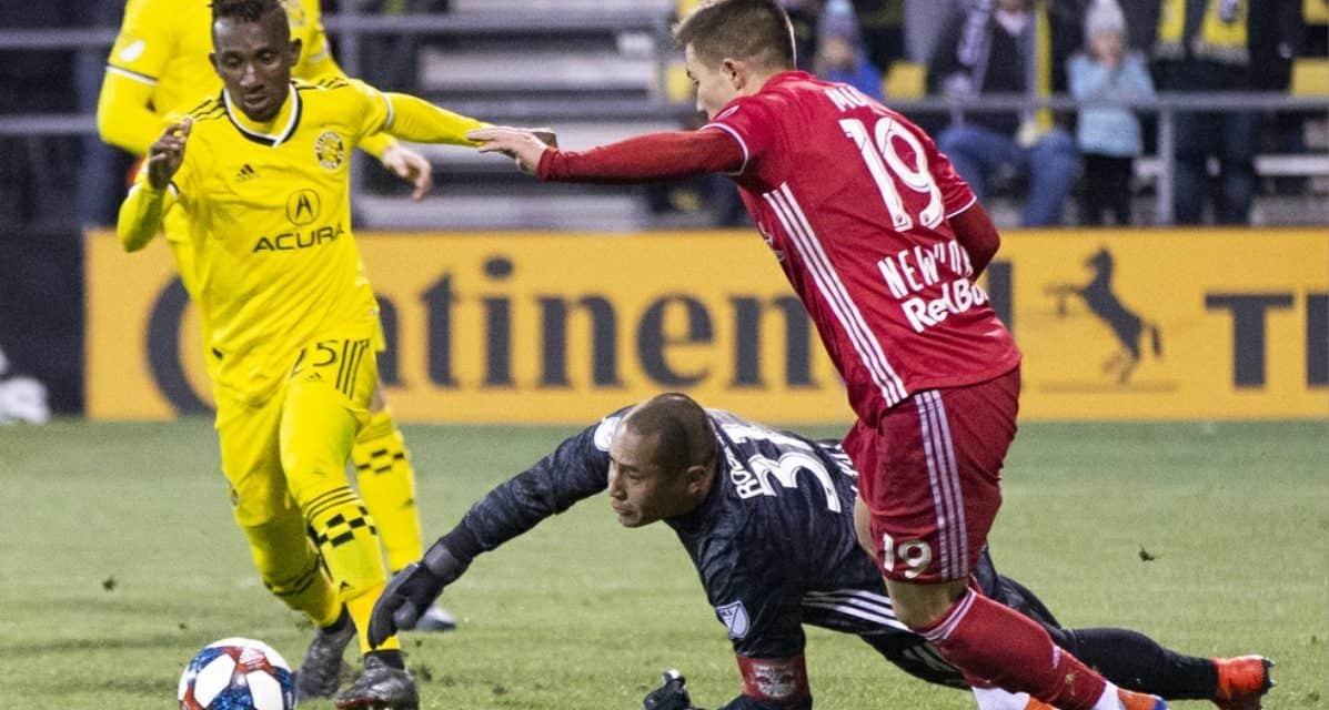 TYING ONE ON: Using a B team lineup, Red Bulls tie at Columbus